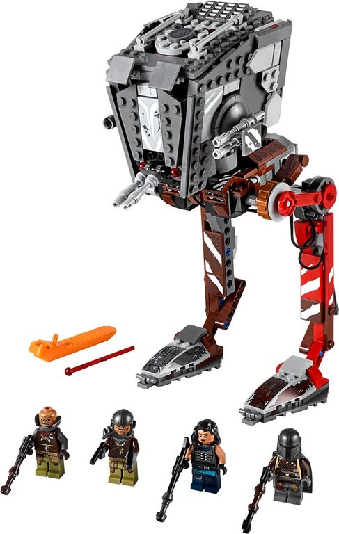 LEGO® Star Wars AT-ST™ Raider components