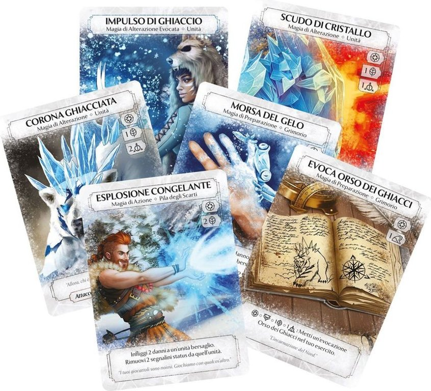Ashes: The Frostdale Giants cards