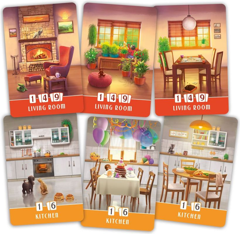Dream Home cards