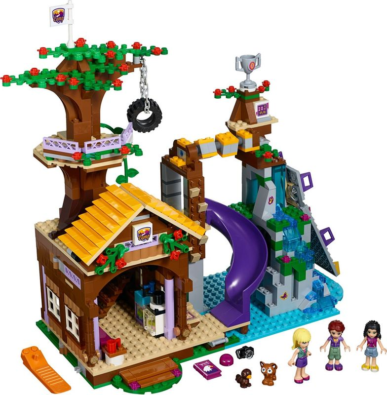 Adventure Camp Tree House components
