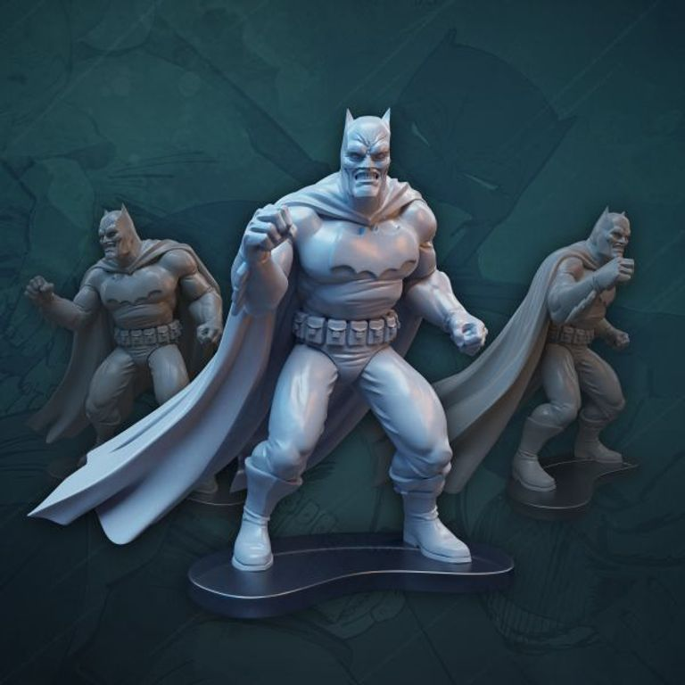 Batman: The Dark Knight Returns Board Game miniatures