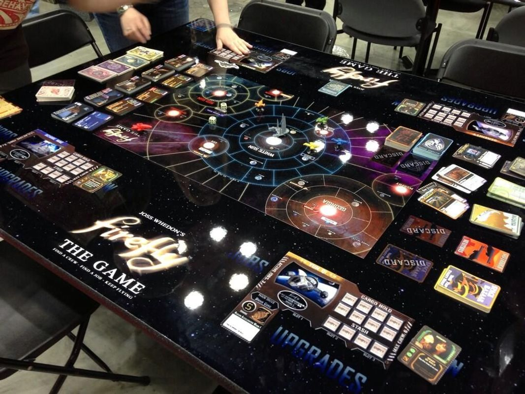 Firefly Boardgame components