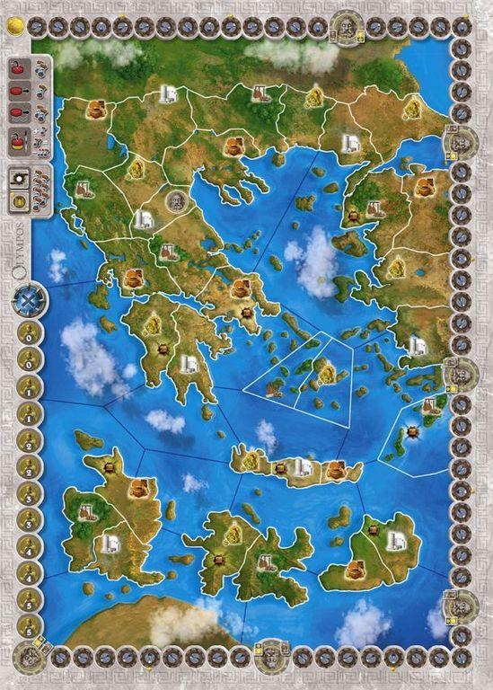 Olympos game board