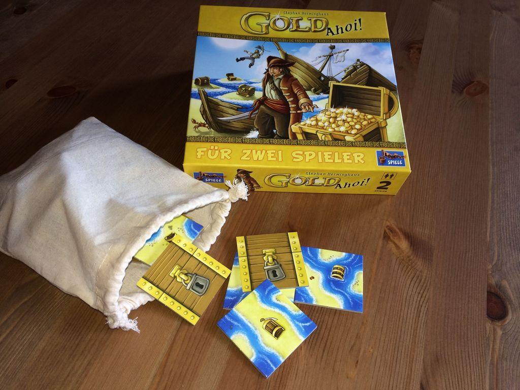 Gold Ahoy! components