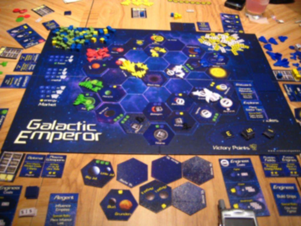Galactic Emperor gameplay
