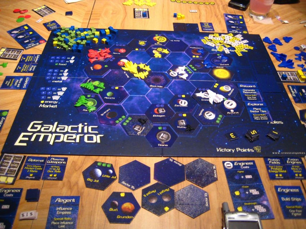 Galactic Emperor gameplay