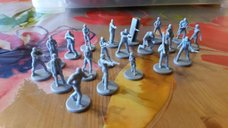 Resident Evil 2: The Board Game miniatures