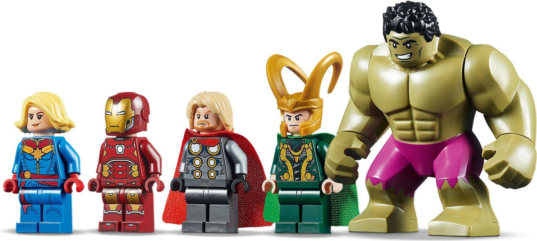 Avengers Wrath of Loki minifigures