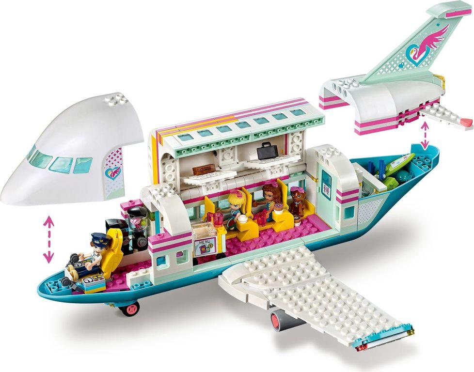 LEGO® Friends Heartlake City Airplane interior