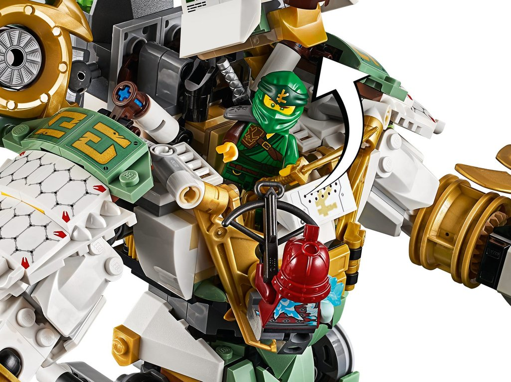 LEGO® Ninjago Lloyd's Titan Mech components