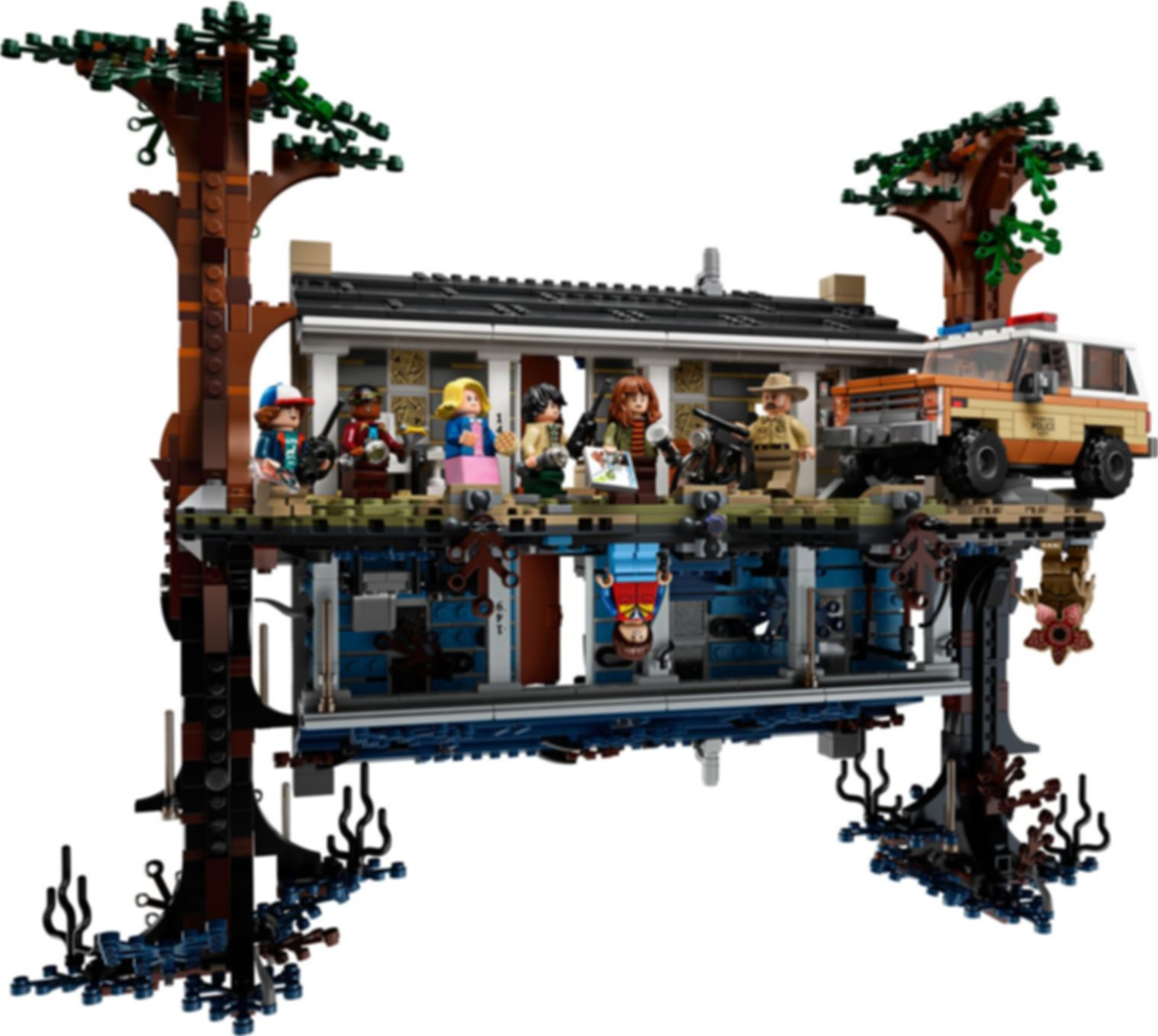 LEGO® Stranger Things The Upside Down components