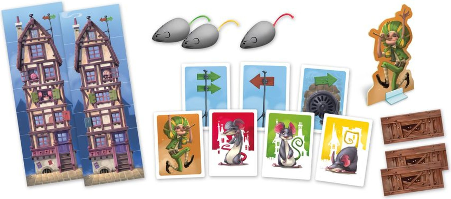 Tales & Games: The Pied Piper components