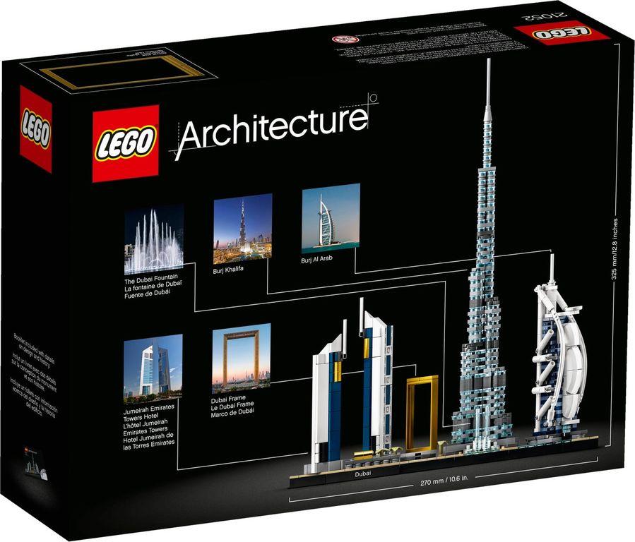 LEGO® Architecture Dubai back of the box