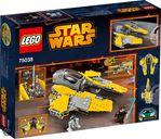 LEGO® Star Wars Jedi Interceptor back of the box