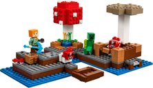 LEGO® Minecraft The Mushroom Island gameplay