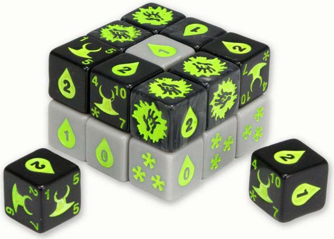 Quarriors! Rise of the Demons dice