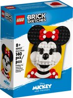 LEGO® Brick Sketches™ Minnie Mouse