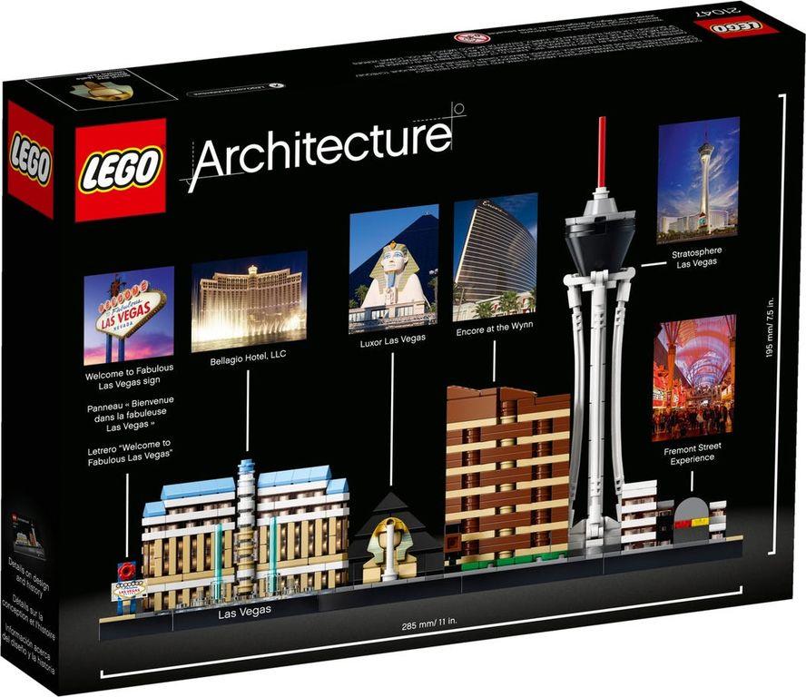 LEGO® Architecture Las Vegas back of the box