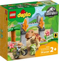 LEGO® DUPLO® T. rex and Triceratops Dinosaur Breakout