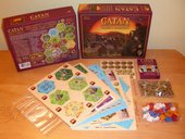 Catan: Traders & Barbarians components