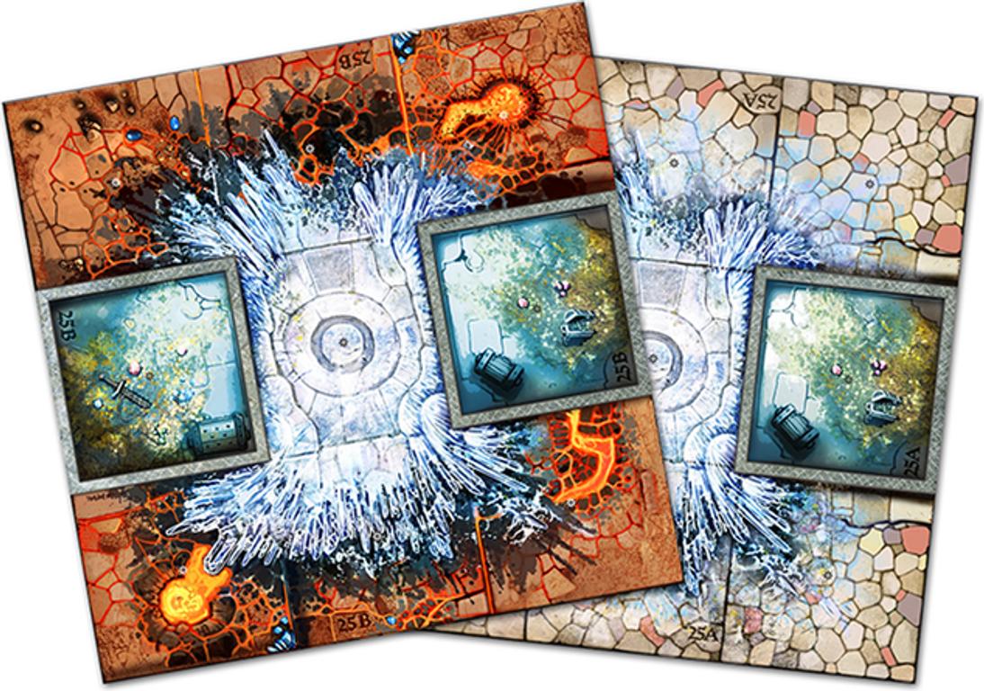 Arcadia Quest: Frost Dragon tiles
