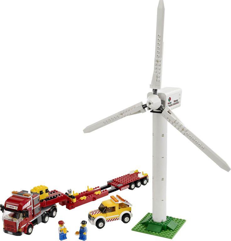 LEGO® City Wind Turbine Transport components