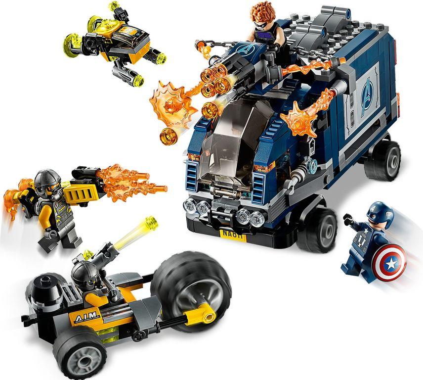 LEGO® Marvel Avengers Truck Take-down gameplay
