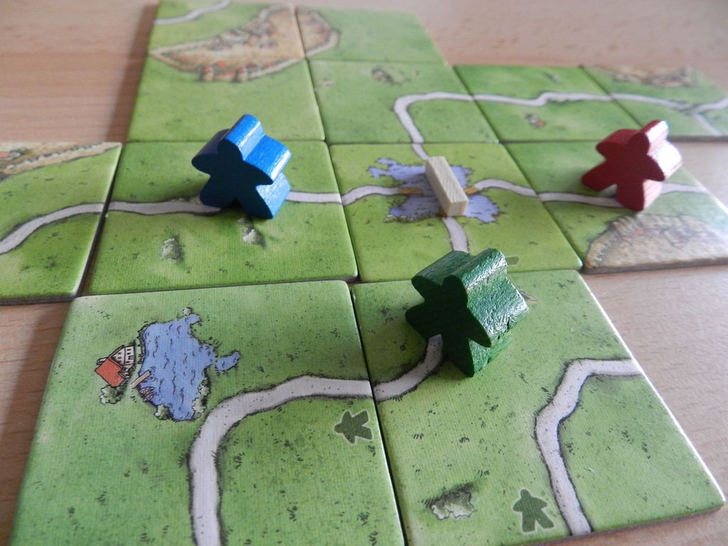 Carcassonne: The Ferries gameplay