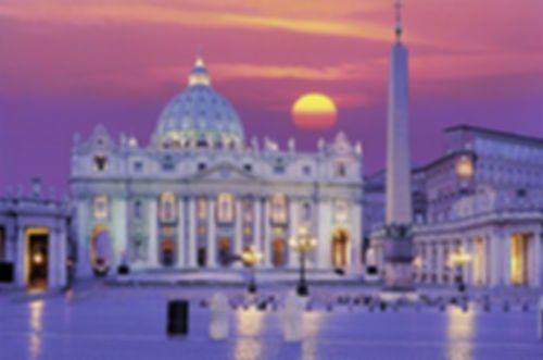 St Peter's Cathedral in Rome