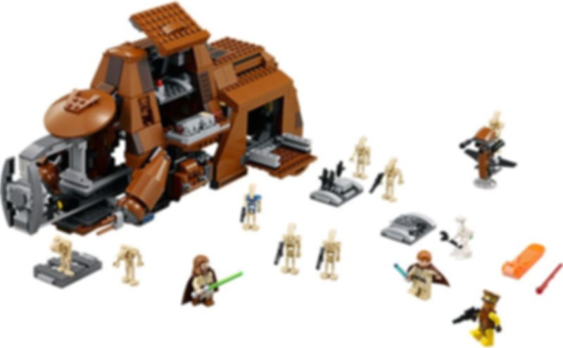LEGO® Star Wars MTT components