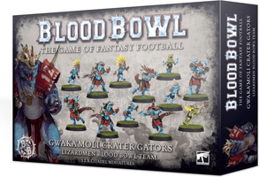 Blood Bowl (2016 edition): Gwaka'moli Crater Gators – Lizardmen Blood Bowl Team