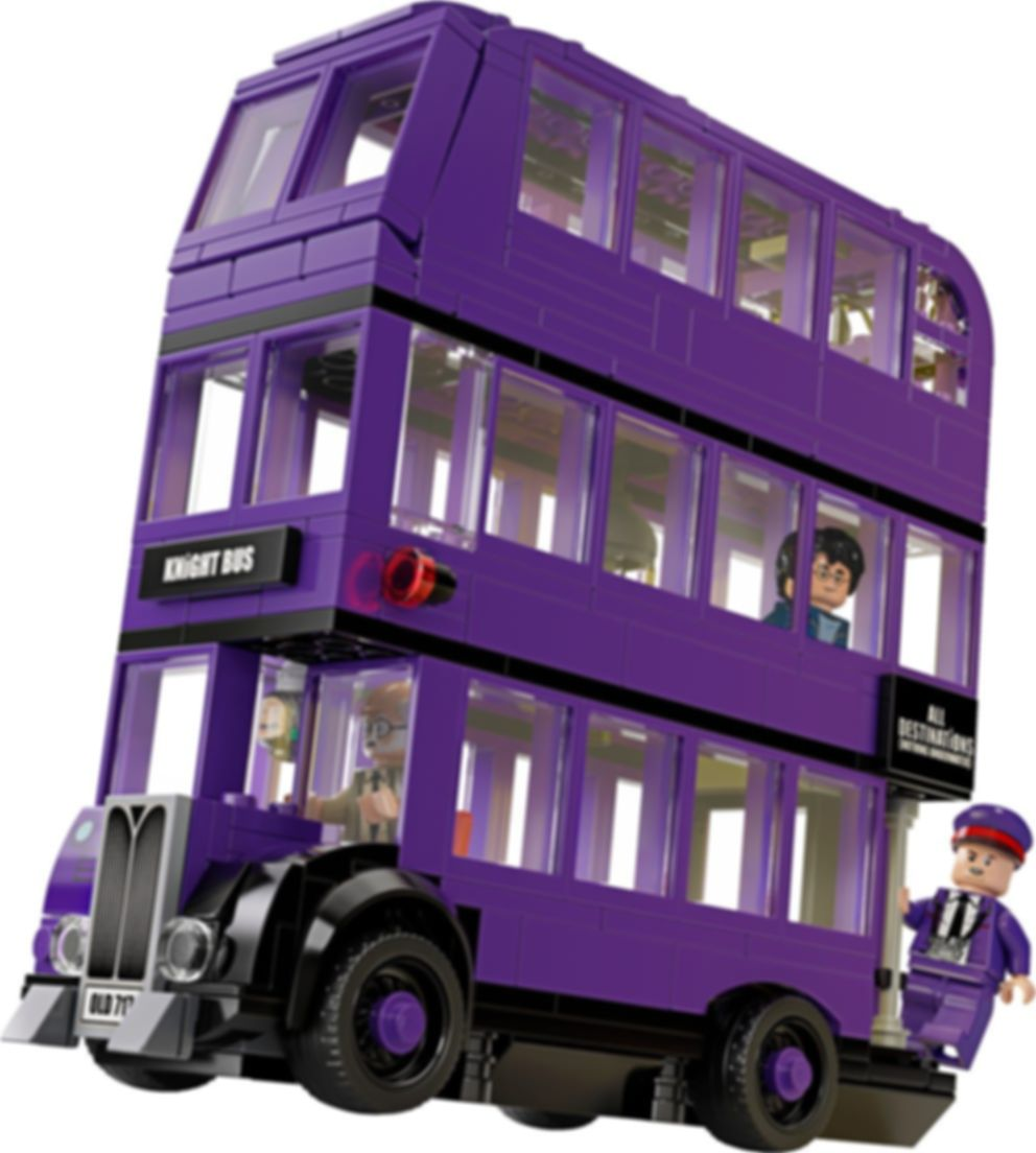 LEGO® Harry Potter™ The Knight Bus™ components