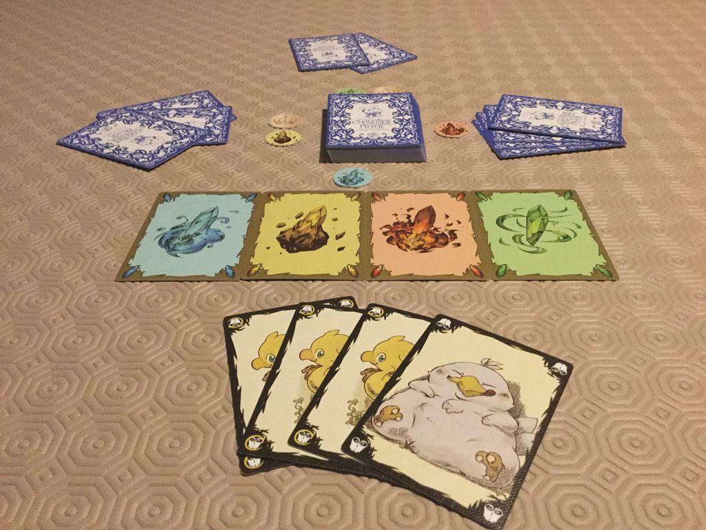 Chocobo's Crystal Hunt gameplay
