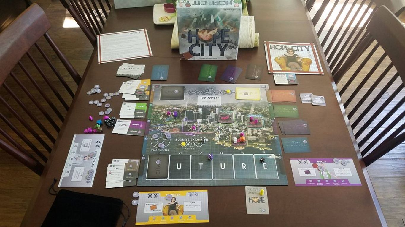 Hope City components