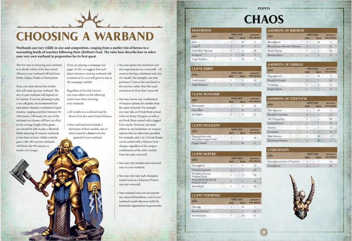 Warhammer Age of Sigmar: Skirmish manual