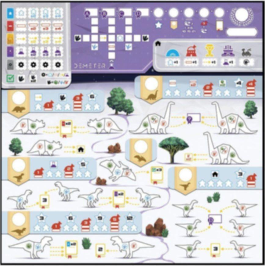 Demeter game board
