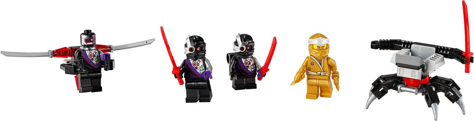 LEGO® Ninjago Golden Zane Minifigure Accessory Set minifigures
