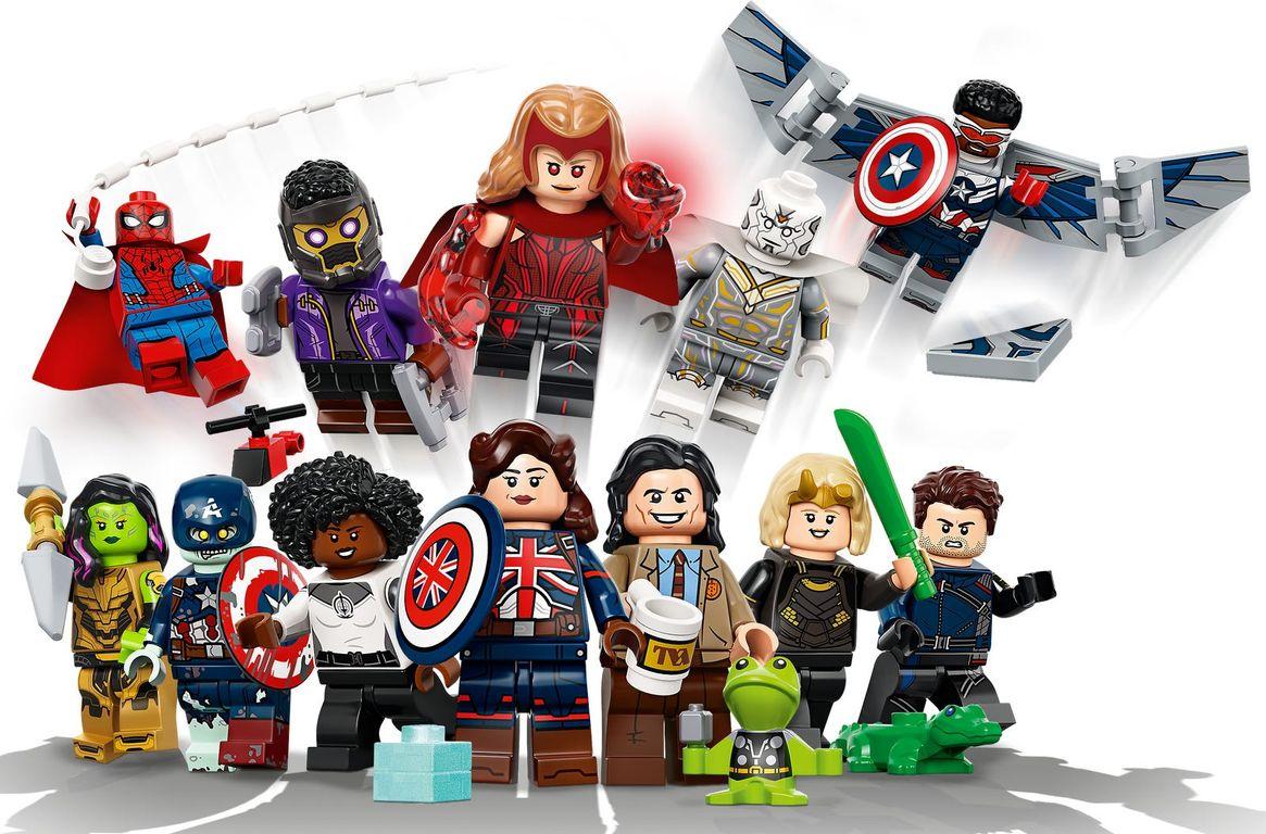 LEGO® Minifigures Marvel Studios gameplay