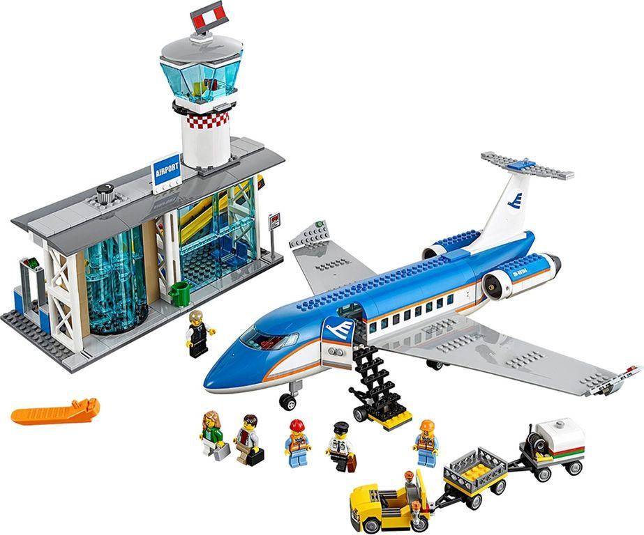 LEGO® City Airport Passenger Terminal components