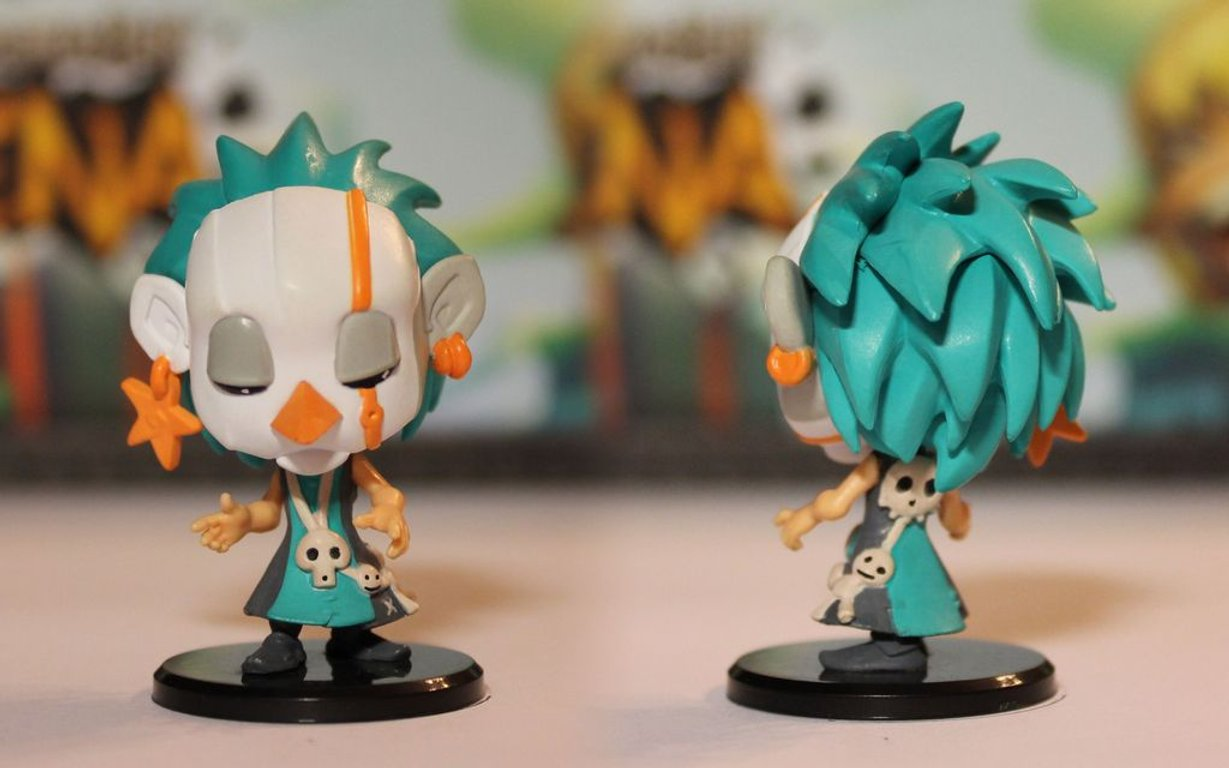 Krosmaster: Arena - Fire and Ice miniatures