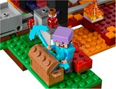 The Nether Portal minifigures