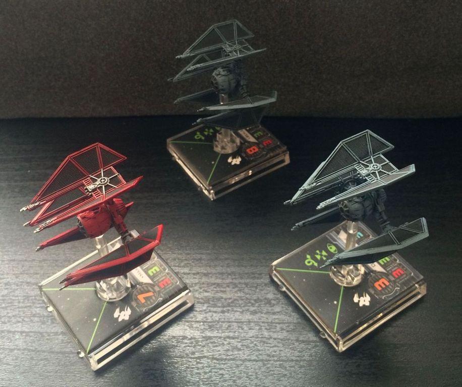 Star Wars X-Wing: Imperial Veterans miniatures