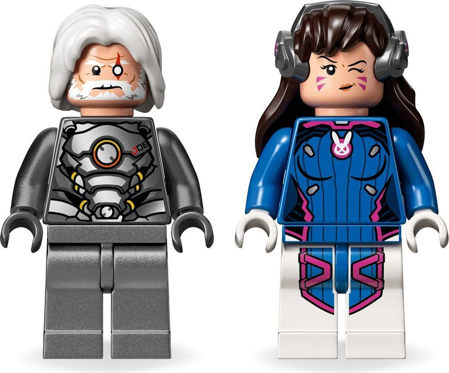 LEGO® Overwatch D.Va & Reinhardt minifigures