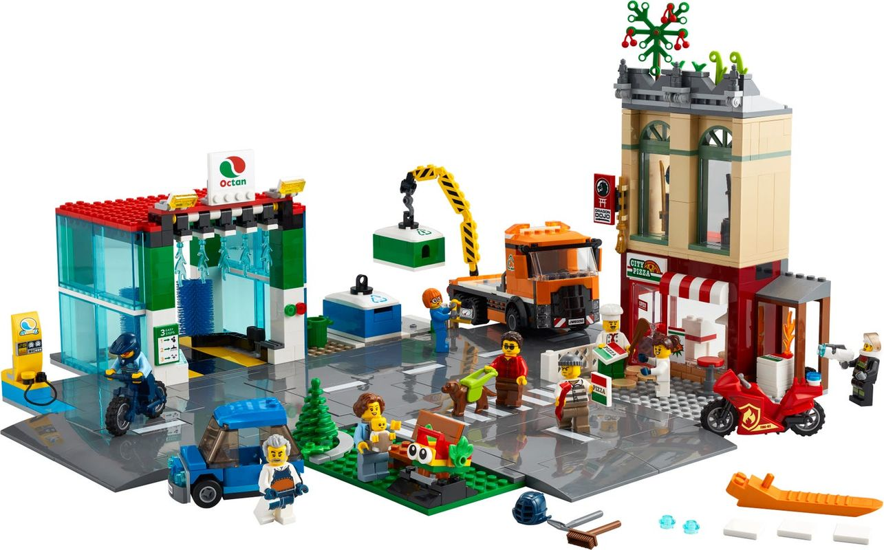Town Center components