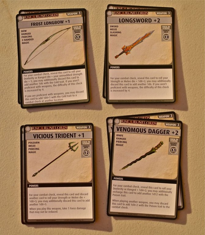 Pathfinder Adventure Card Game: Rise of the Runelords – Adventure Deck 3: The Hook Mountain Massacre cards