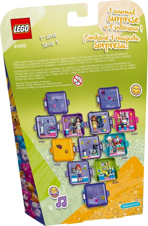 LEGO® Friends Andrea's Play Cube back of the box