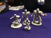 Power Rangers: Heroes of the Grid - Shattered Grid miniatures