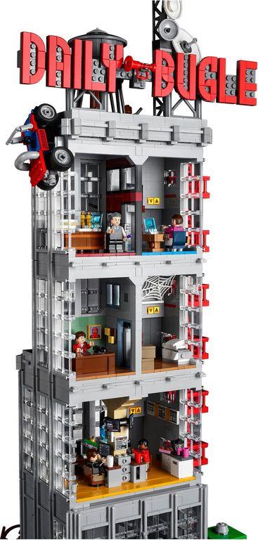 LEGO® Marvel Daily Bugle back side