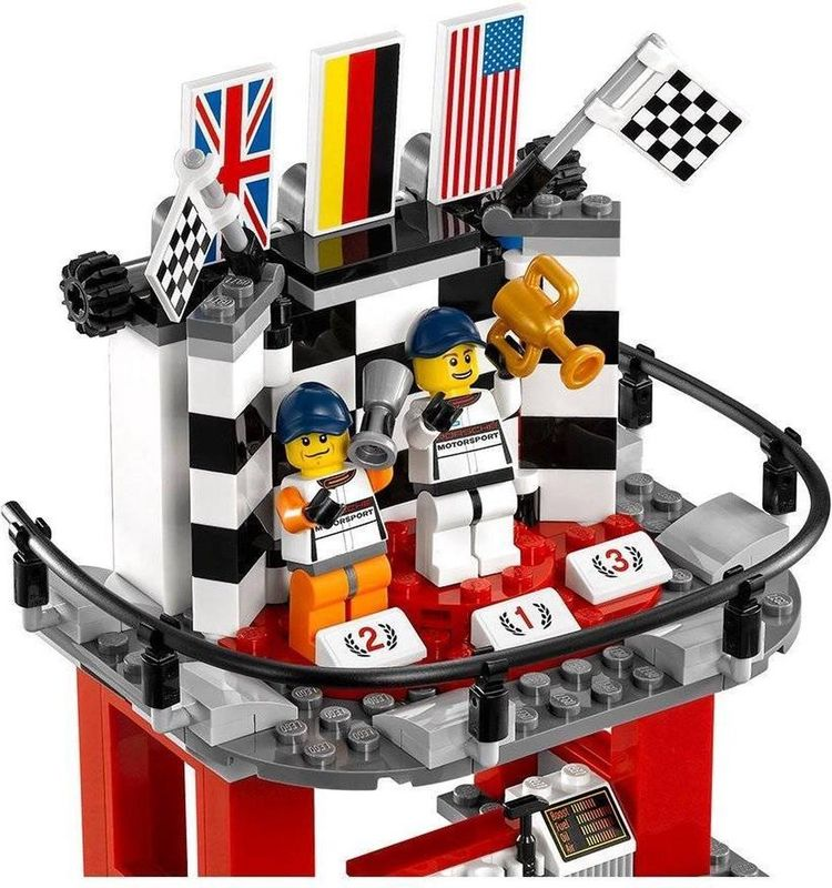 Porsche 911 GT finish minifigures