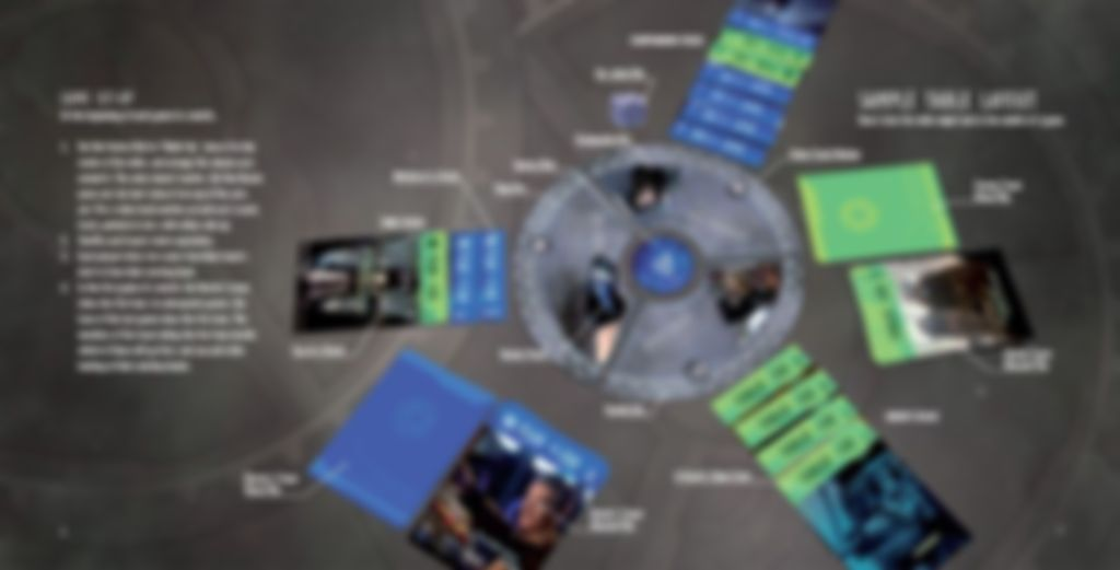 Doctor Who: Time Clash - Starter Set components